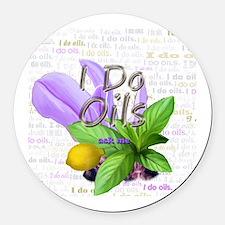 Doterra essential oils Round Car Magnet
