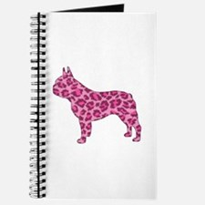 Pink Leopard Frenchie Journal