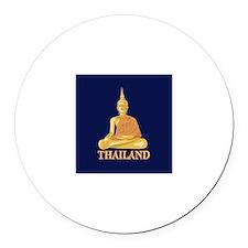Thailand Round Car Magnet