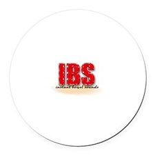 Irritable Bowel Syndrome Round Car Magnet