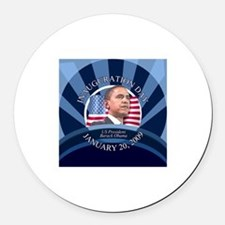 The Inauguration Day Round Car Magnet