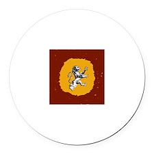 """Lion"" Round Car Magnet"