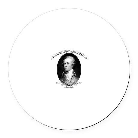 Alexander Hamilton 03 Round Car Magnet