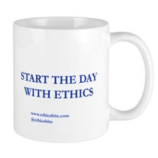 Start The Day With Ethics (Blue Letters)