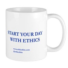 Start Your Day With Ethics (Blue Letters)