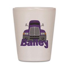 Trucker Bailey Shot Glass