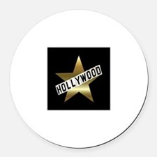 HOLLYWOOD California Hollywood Walk of Fame Round