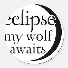 Eclipse-Jacob Round Car Magnet