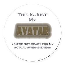 Avatar Round Car Magnet