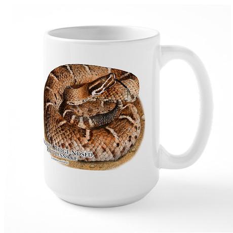 Arizona Ridge-Nosed Rattlesnake Large Mug