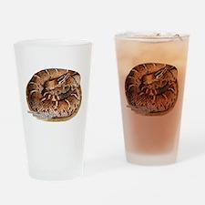 Arizona Ridge-Nosed Rattlesnake Drinking Glass