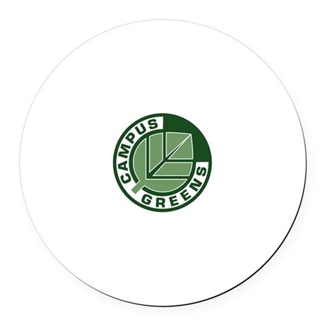Campus Greens Round Car Magnet