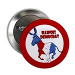 Illinois Democrat Political Button