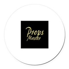 Props Master Round Car Magnet