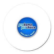 Pro-Choice Round Car Magnet