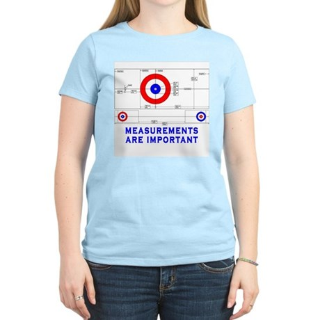 Measurements Are Important Women's Pink T-Shirt