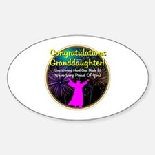 Graduation: 0003f Sticker (Oval)