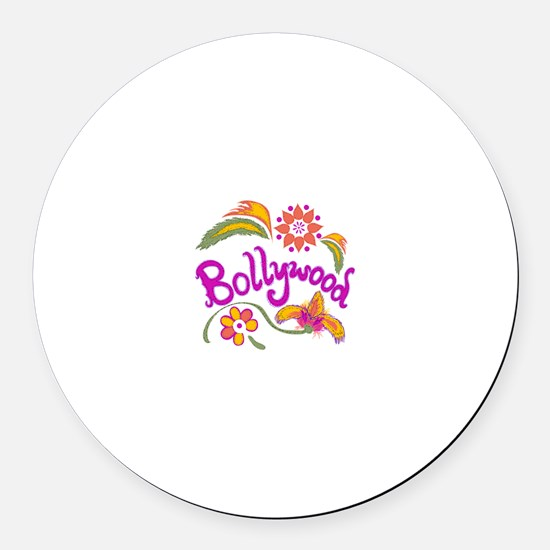 Bollywood Name Round Car Magnet