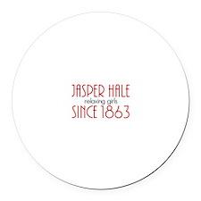 Jasper Hale - Relaxing Girls since 1863 Round Car