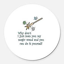 Round Car Magnetic Wand Round Car Magnet