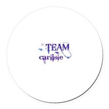 Team Carlisle Round Car Magnet