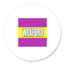 WEXFORD Round Car Magnet