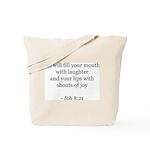 Job 8:21 Tote Bag