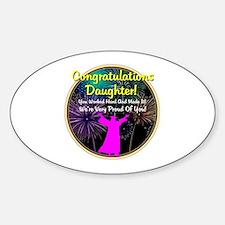 Graduation: 0003g Sticker (Oval)