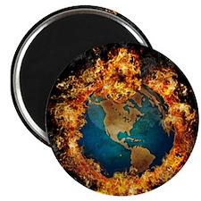 Burning World Magnet