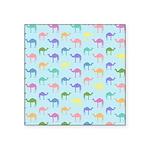 Colorful Camel Square Sticker 3