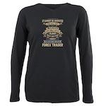 Trucker Betty Organic Toddler T-Shirt (dark)