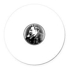Nietzsche is my homeboy! Round Car Magnet