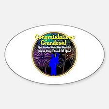 Graduation: 0003e Sticker (Oval)