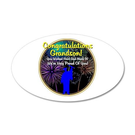 Graduation: 0003e 22x14 Oval Wall Peel