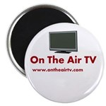 """On The Air TV Stuff 2.25"""" Magnet (10 pack)"""