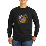 Armenian coat of arms Long Sleeve T-shirts (Dark)
