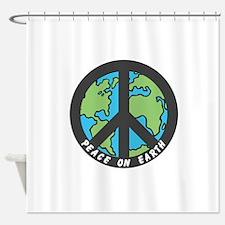 Peace on Earth. Shower Curtain