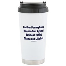 Pennsylvania Independent Travel Mug