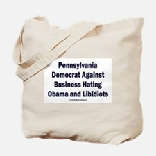 Pennsylvania Democrat Tote Bag