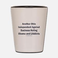 Ohio Independent Shot Glass