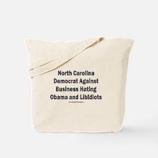 North Carolina Democrat Tote Bag