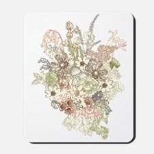 Wildflower Bouquet Mousepad