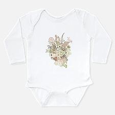 Wildflower Bouquet Long Sleeve Infant Bodysuit