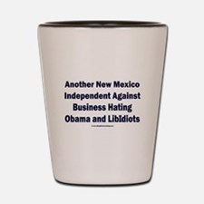 New Mexico Independent Shot Glass
