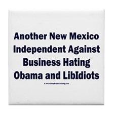 New Mexico Independent Tile Coaster