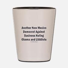 New Mexico Democrat Shot Glass