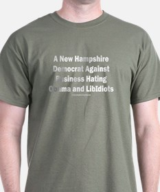 New Hampshire Democrat T-Shirt