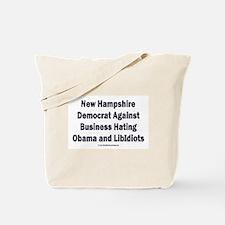 New Hampshire Democrat Tote Bag