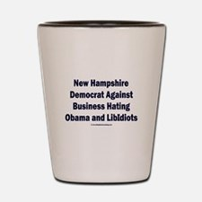 New Hampshire Democrat Shot Glass