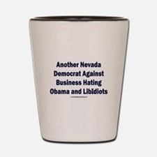 Nevada Democrats Shot Glass